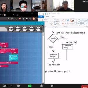 STEMLOOK Online Robot Engineers for Children Y3-Y7