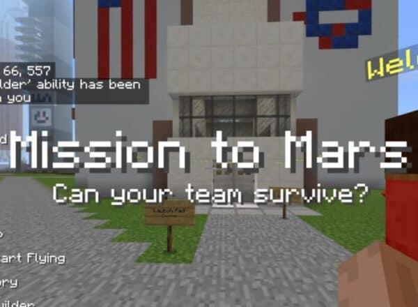 STEMLOOK Minecraft Coding Camp Mission to Mars